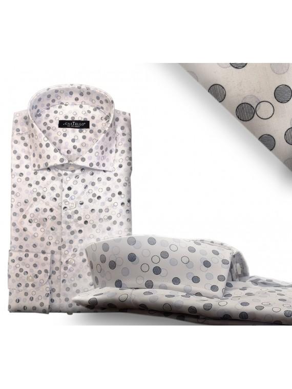 Camicia Uomo Pied de Poule Cod. 5012